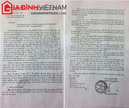 Pho Giam doc So GD - DT Hai Duong ra van ban 'ep' hoc sinh mua sach tham khao? - Anh 2