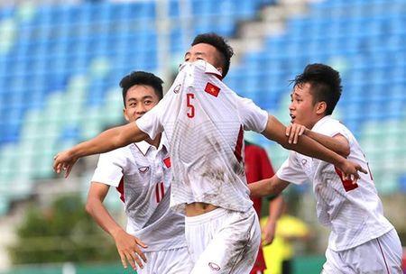 U18 Viet Nam vui dap Indonesia, doc chiem ngoi nhat bang - Anh 1
