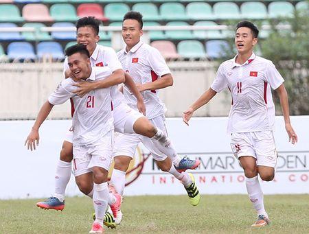 Ha thuyet phuc Indonesia 3-0, U18 Viet Nam vao ban ket giai Dong Nam A - Anh 1