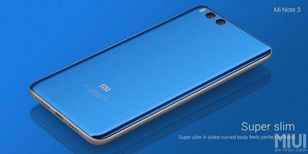 Xiaomi gioi thieu Mi Note 3: Snapdragon 660, camera kep - Anh 4
