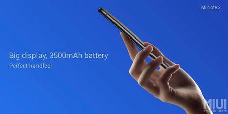 Xiaomi gioi thieu Mi Note 3: Snapdragon 660, camera kep - Anh 5