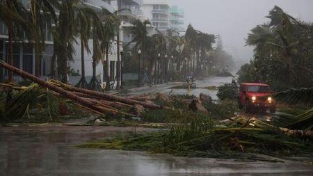 Sieu bao Irma do bo vao Florida, hang trieu nguoi so tan - Anh 1