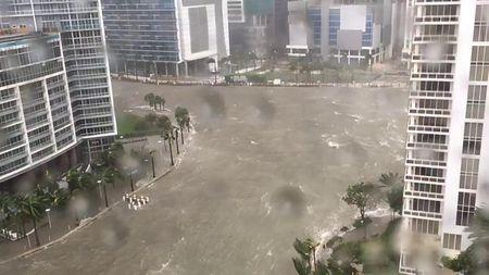 Sieu bao Irma do bo vao Florida, hang trieu nguoi so tan - Anh 2
