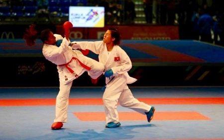 Nguyen Thi Ngoan gianh HCV lich su cho Karatedo Viet Nam - Anh 1