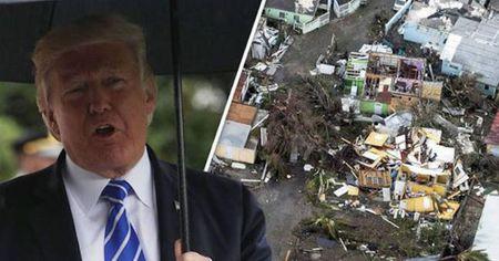 Tong thong Trump goi sieu bao Irma la 'con quai vat khong lo' - Anh 1