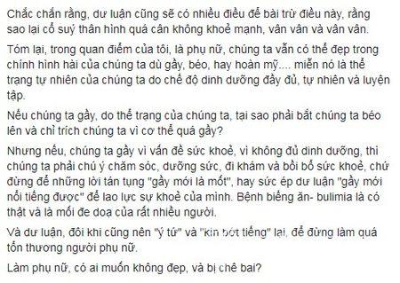 Sao Viet buc xuc khi Cao Ngan bi de biu gay nhu 'xac uop' - Anh 13