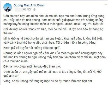 Sao Viet buc xuc khi Cao Ngan bi de biu gay nhu 'xac uop' - Anh 14