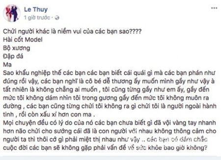 Sao Viet buc xuc khi Cao Ngan bi de biu gay nhu 'xac uop' - Anh 15