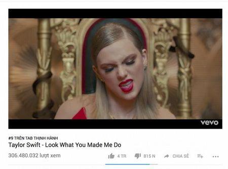 Dung nhu du doan, MV Taylor Swift pha ki luc vuot 300 trieu view nhanh nhat - Anh 1