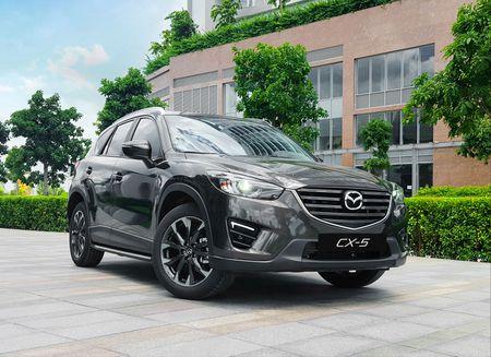 Bang gia xe Mazda kem uu dai moi nhat thang 9/2017 - Anh 1