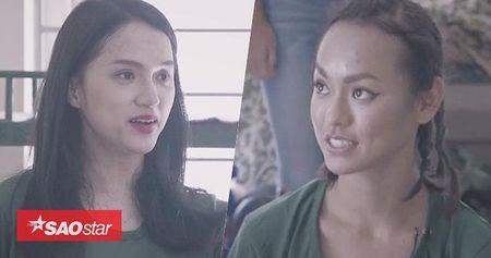 Dung truoc nguy co tiep tuc 'mat chan may', Mai Ngo 'cau cuu' Huong Giang xin giu lai do make-up - Anh 1