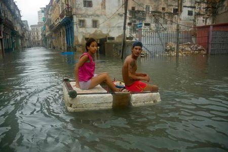 Cuba hung chiu thuong vong lon nhat do bao Irma - Anh 1