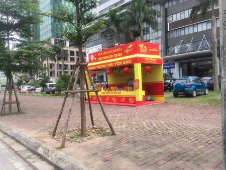 Hang loat quay banh Trung thu 'do bo', lan chiem via he thu do - Anh 2