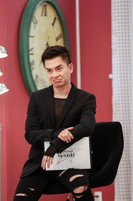 Nhin lai loat bieu cam sieu 'kho do' cua giam khao Nam Trung tai Next Top All Stars - Anh 2