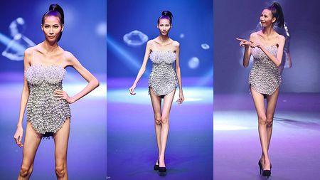 Next Top Model 2017: Choang voi phat ngon benh vuc 'bo xuong di dong' Cao Ngan cua 'kieu nu' Ngoc Lan - Anh 1