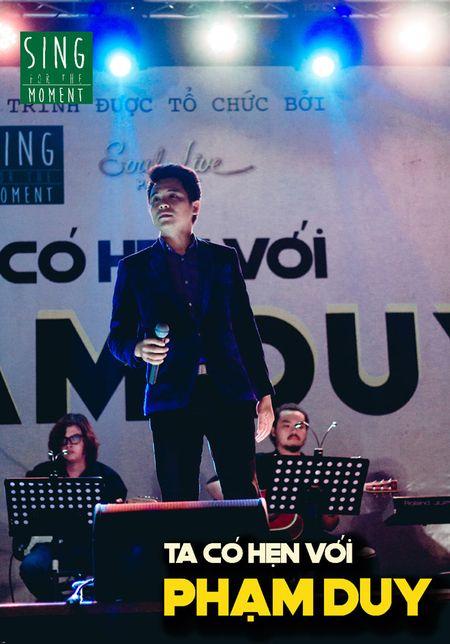 Lan Nha manh dan hat nhac Pham Duy de gay quy tu thien Sing For The Moment - Anh 2