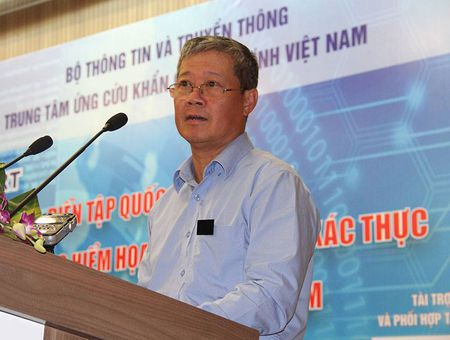Khai mac chuong trinh dien tap ung cuu su co an ninh mang ACID 2017 - Anh 1