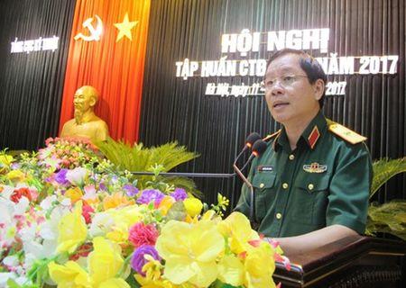 Tong cuc Ky thuat to chuc tap huan CTD-CTCT - Anh 1
