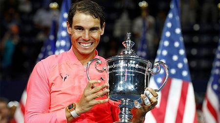 Rafael Nadal dang quang tai Giai quan vot My mo rong 2017 - Anh 1