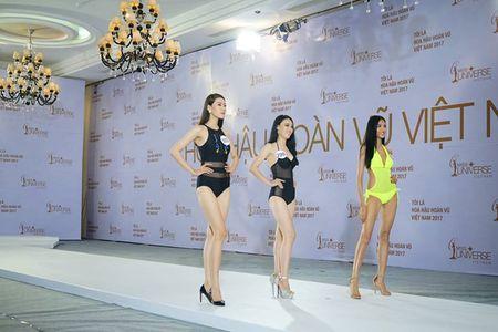 Hoang Thuy dien bikini noi bat o Hoa hau Hoan vu Viet Nam - Anh 1