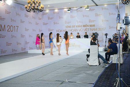 Hoang Thuy dien bikini noi bat o Hoa hau Hoan vu Viet Nam - Anh 2
