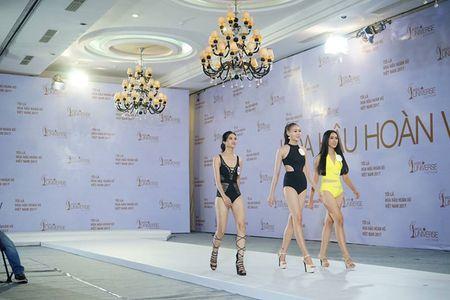 Hoang Thuy dien bikini noi bat o Hoa hau Hoan vu Viet Nam - Anh 3