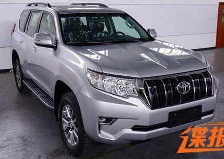 Toyota Land Cruiser Prado 2018 lo dien truoc ngay ra mat - Anh 3