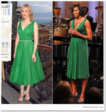 Michelle Obama tre trung voi dam xanh la cho U50 - Anh 6