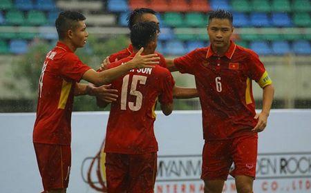 U18 Viet Nam da 'chung ket' voi U18 Indonesia - Anh 1