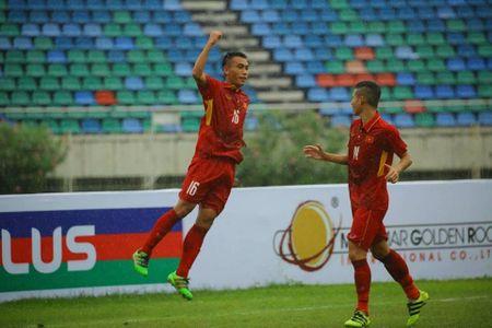 Ket qua tran U18 Viet Nam vs U18 Indonesia, giai U18 Dong Nam A - Anh 1