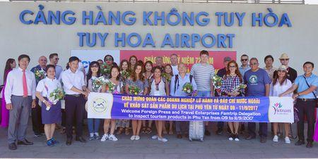 Doan famtrip quoc te khao sat du lich Phu Yen - Anh 1