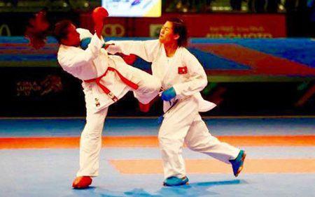 Nu vo si Viet Nam gianh HCV lich su o giai karatedo the gioi - Anh 1