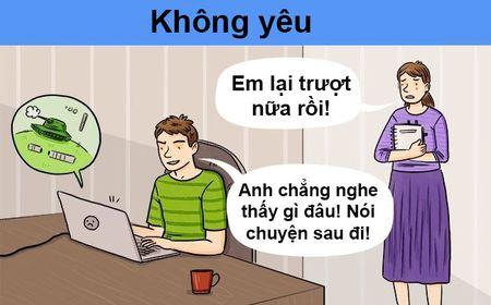 Dau hieu chang yeu ban that long - Anh 7