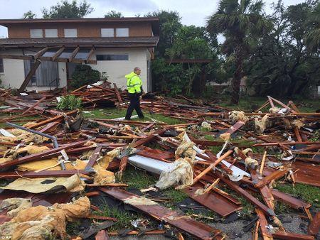 Nhung hinh anh to cao 'toi ac' bao 'quai vat' Irma gay ra o Florida - Anh 15
