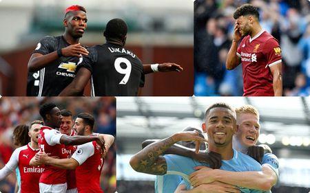 BXH Premier League 2017/2018 sau vong 4: Man City ap sat MU - Anh 1