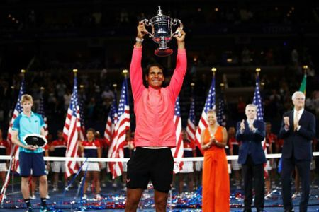 Vo dich US Open, Nadal tri an thay cu - Anh 1