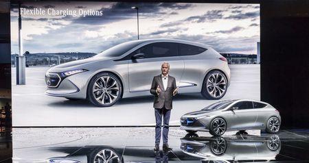 Ngam thiet ke tuong lai tren EQA concept moi cua Mercedes-Benz - Anh 1