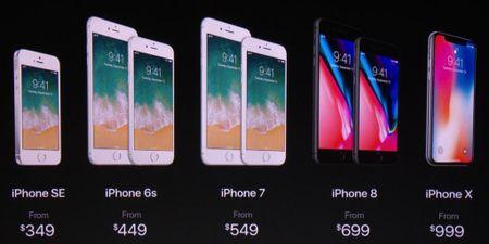 iPhone X ra mat khien iPhone doi cu dong loat giam gia 100 USD - Anh 1