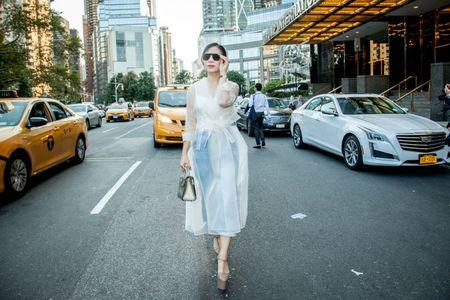 Doanh nhan Luu Nga cung Paris Hilton xem thoi trang tai New York - Anh 5