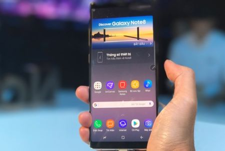 Galaxy Note8 chinh thuc ban tai Viet Nam tu 29-9 - Anh 1