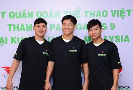 Doan the thao nguoi khuyet tat Viet Nam tran day tu tin trong le xuat quan - Anh 4