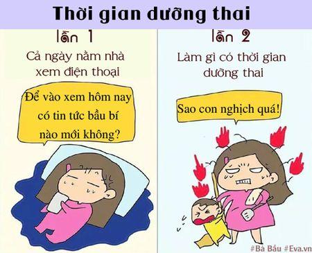 Khong ngo sinh con lan dau va lan hai lai khac nhau nhieu the nay! - Anh 6
