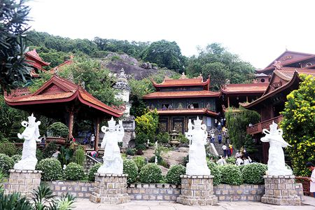 Tuyet canh Chua Hang - Anh 1