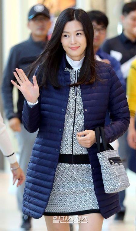 'Mo chanh' Jeon Ji Hyun be bung bau 7 thang di su kien - Anh 2