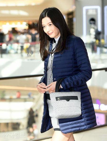 'Mo chanh' Jeon Ji Hyun be bung bau 7 thang di su kien - Anh 4