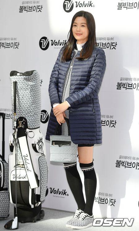 'Mo chanh' Jeon Ji Hyun be bung bau 7 thang di su kien - Anh 6