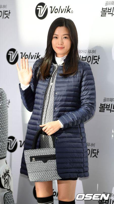 'Mo chanh' Jeon Ji Hyun be bung bau 7 thang di su kien - Anh 7