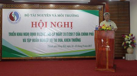 Bo TN&MT: Trien khai Nghi dinh so 91/2017/ND-CP va nghiep vu thi dua, khen thuong - Anh 1