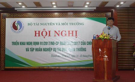 Bo TN&MT: Trien khai Nghi dinh so 91/2017/ND-CP va nghiep vu thi dua, khen thuong - Anh 3