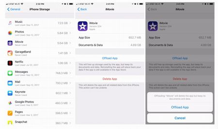 Cong cu moi cua iOS 11 se giup lay lai khong gian luu tru quy gia tren iPhone - Anh 2